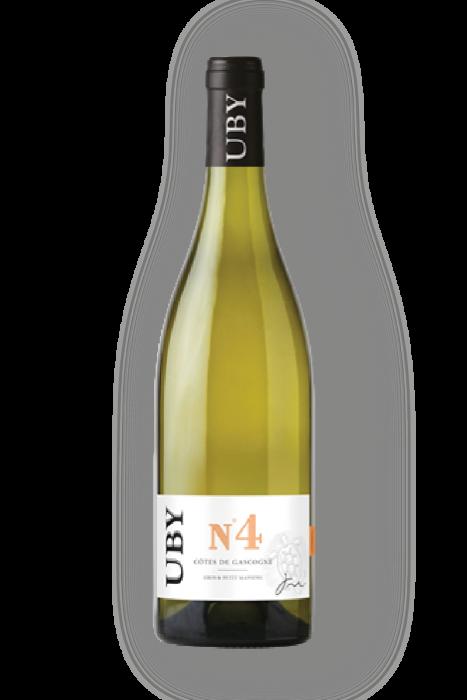 Côtes de Gascogne Uby N°4 Moelleux 75Cl