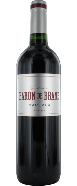Margaux BARON DE BRANE 2012 13° 75CL