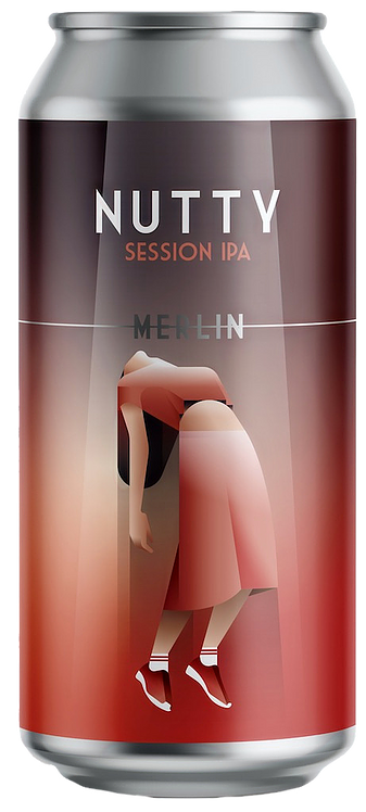MERLIN Nutty Session IPA 4° 44cl