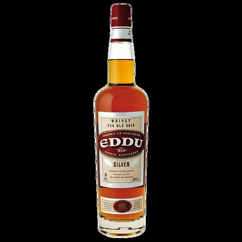 """Whisky EDDU Silver """"Pur Blé Noir"""" 40° 70cl"""