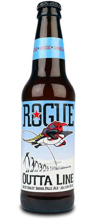 ROGUE Outta Line West Coast IPA 35.5 Cl