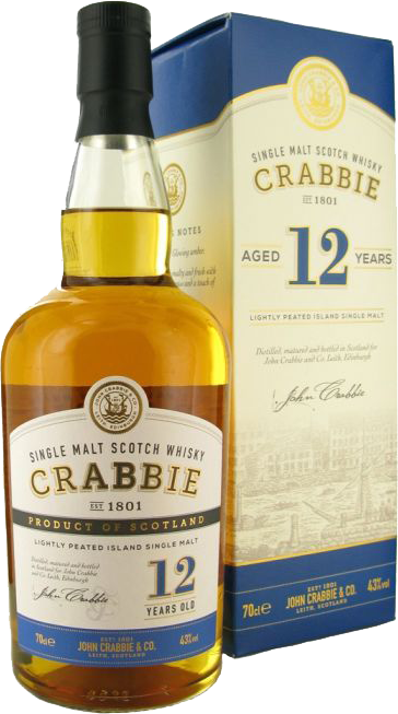 CRABBIES 12 ans 43° 70 cl