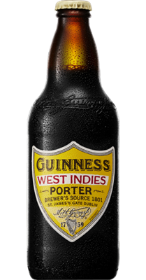 GUINNESS WEST INDIES Porter 6° 50CL