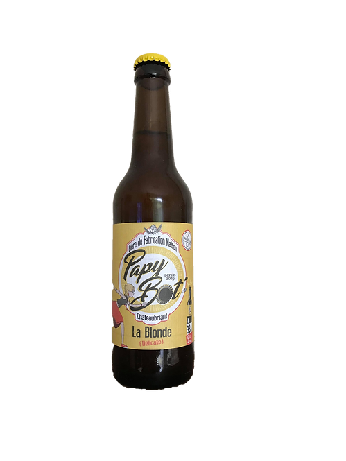 PAPY BOT Blonde 5° 75Cl