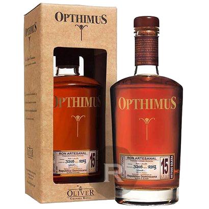 Rhum OPTHIMUS 15 ans 38° 70Cl