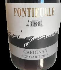 Carignan Domaine FONTIEULLE 2015 75cl