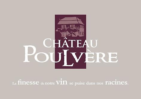 BIB 5L  BERGERAC rouge Château Poulvère