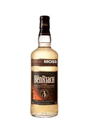 Whisky Peated BENRIACH Single Malt BIRNIE MOSS 48° 70CL