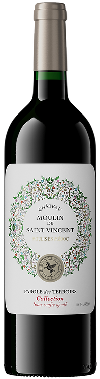 Moulis en Médoc MOULIN DE ST VINCENT 2016 75Cl
