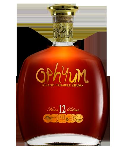 Rhum OPHYUM 12 ans 40° 70Cl
