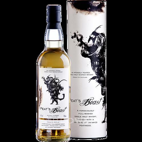 Whisky PEAT'S BEAST Single Malt 46° 70CL