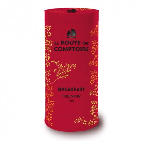 Thé breakfast Boite Métal 80 g