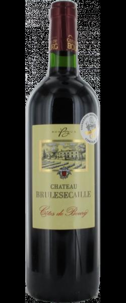"""Côtes de Bourg """"Château Brulescaille"""" 2015 75cl"""