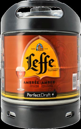 Mini fût PerfectDraft 6L LEFFE Ambrée
