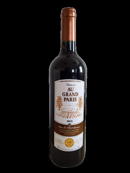 """Bordeaux """"Au grand Paris"""" 2015 75cl"""