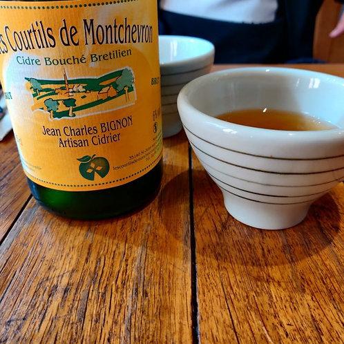 Cidre Fermier Brut Monchevron 75cl