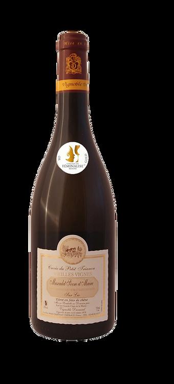 """Muscadet Cuvée du petit Trianon """"Vignoble Drouard"""" 201875cl"""