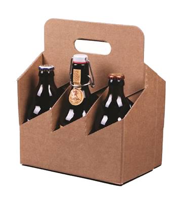 Emballage seul Valisette 6 bières 33Cl