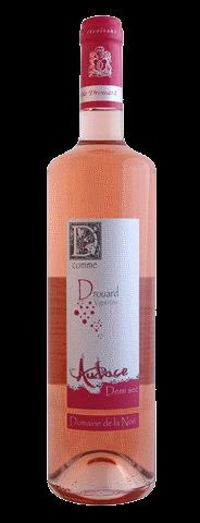 Audace Rosé Demi-sec Vignobles Drouard 75 Cl