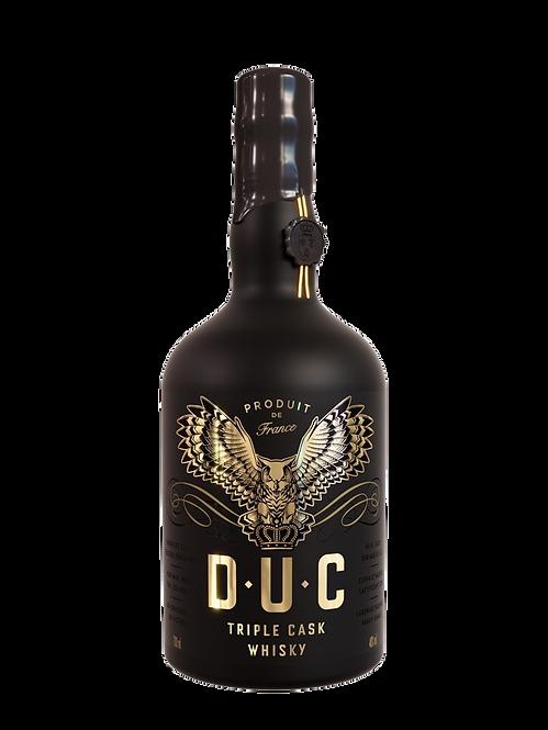 Whisky D.U.C Triple Cask 40° 70CL