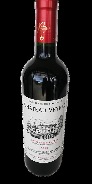 """Saint Emilion """"Château Veyrac"""" 2015 75cl"""