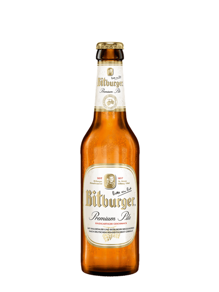 BITBURGER Pils 4.8° 50cl