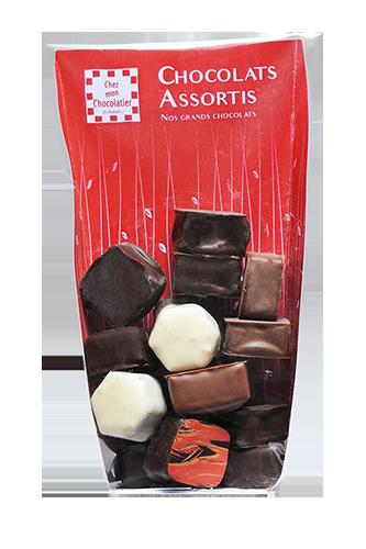Assortiments Chocolats sachets 150gr