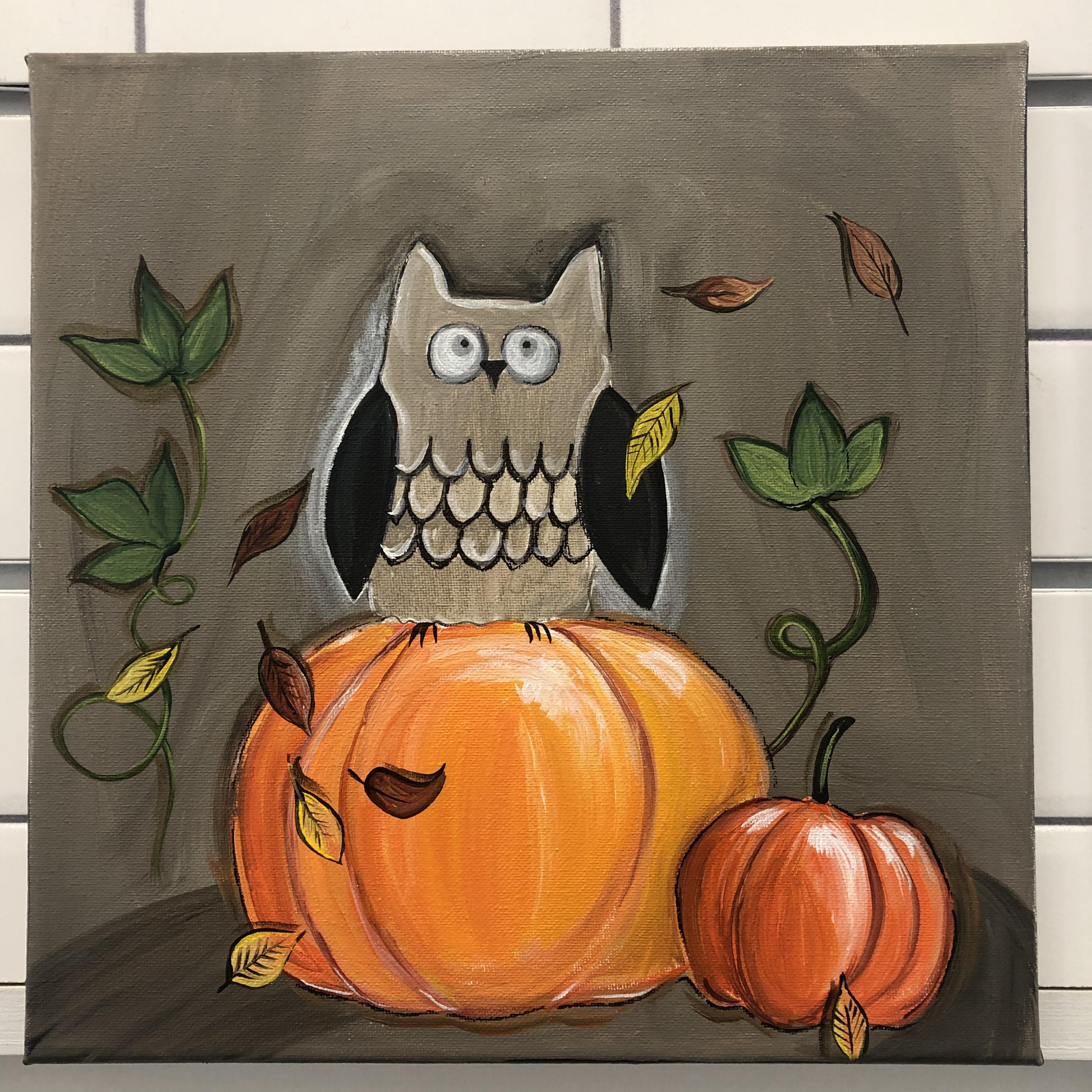 Fall Owl/ FULL