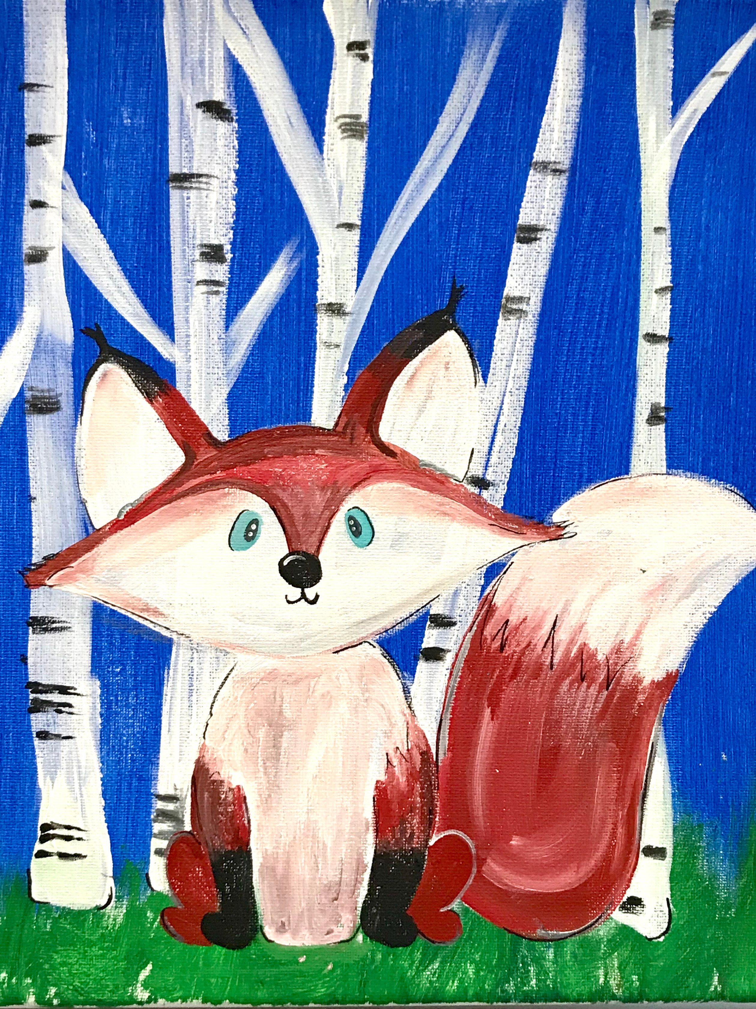 Make and Take/Winter Fox FULL