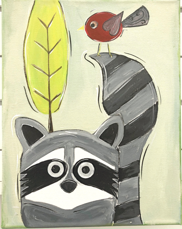 Make and Take/Fall Raccoon FULL