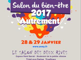 28 et 29/01/17 Salon du bien-être 2017 Autrement organisé par l'AVNY pour la deuxième édition à