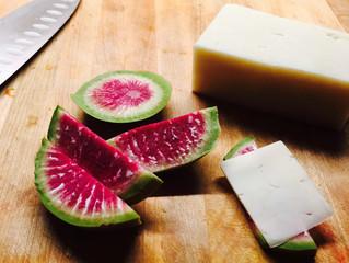 Cheese and Radish Snack