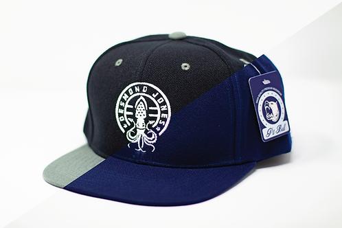 DJ Logo Flat Brim SnapBack Hat