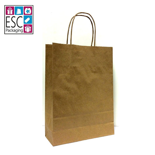 Paper Twist Carrier Bag