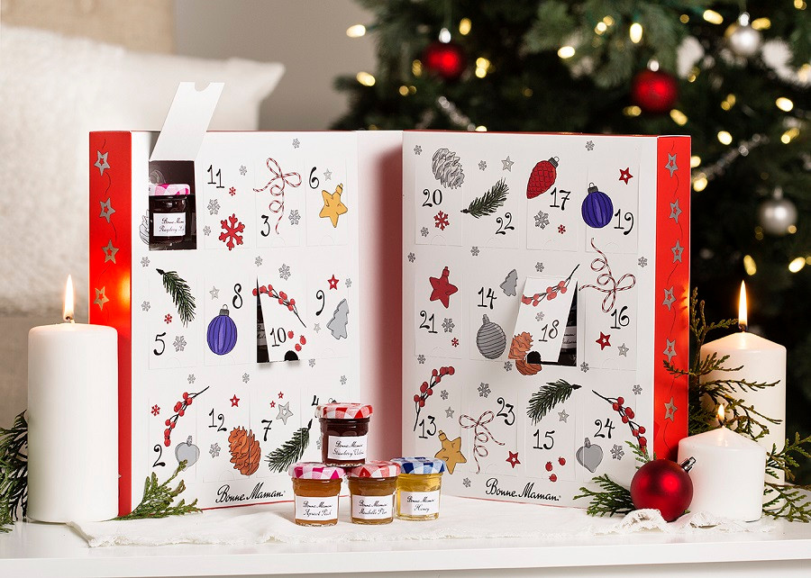 Bonne Maman Advent Calendar Packaging Designed For E-Commerce Industructability