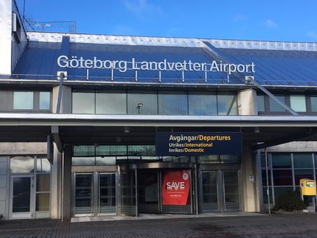 We've landed in Sweden