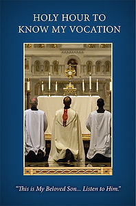 Holy Hour to Know my Vocation