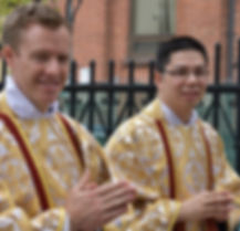 Fr. Alexander MacDonald and Fr. Raymond So