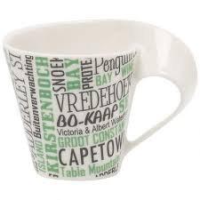 NEWWAVE CAFFE CAPE TOWN TAZA ESPRESSO C/PLATO VILLEROY & BOCH