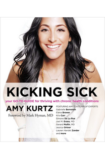 by Amy Kurtz.  The New York health coach combines her personal story of living with multiple chronic illnesses with other compelling stories of women who are dealing with similar health challenges. She also offers an effective plan for anyone living life with a chronic illness. (Sounds True, Fall 2016)