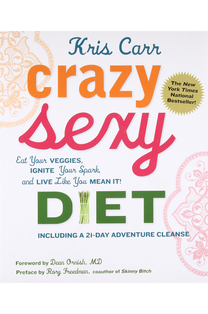 Diet by Kris Carr.  New York Times and Amazon bestseller. Everything you want to know about eating and living well, from food to focus, by the bestselling author of Crazy Sexy Cancer. The book was a New York Times bestseller. (Skirt! Spring 2011) Manuscript only.