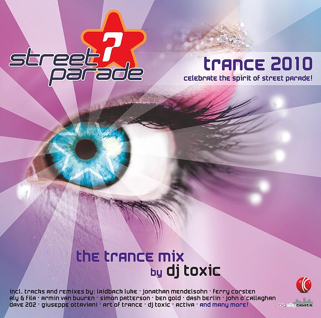CD Street Parade - Trance 2010