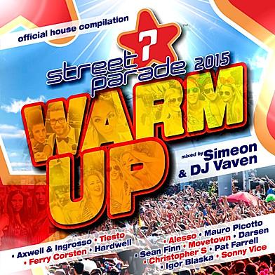 CD Street Parade - Warm Up 2015