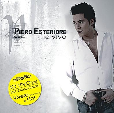 CD Piero Esteriore - IO VIVO