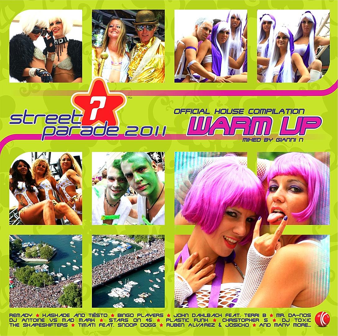 CD Street Parade - warm up 2011