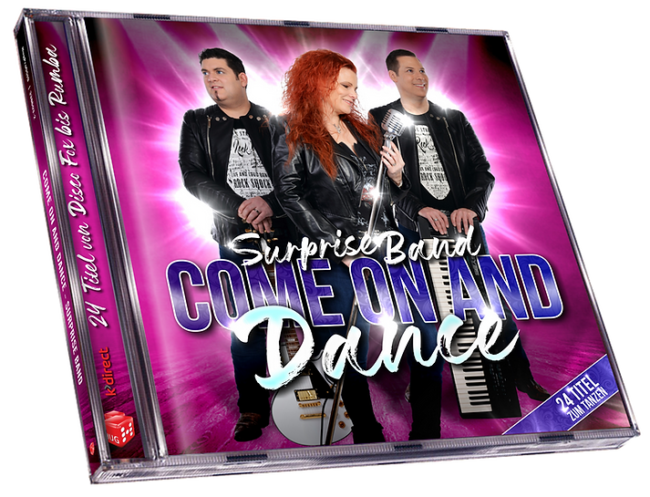 CD Jewel Case Packshot Come on and Dance