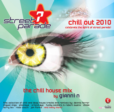 CD Street Parade - Chill out 2010