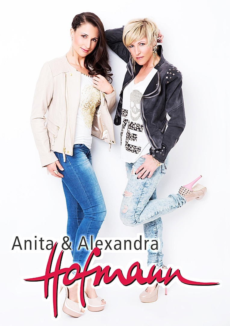 Autogrammkarte Anita und Alexandra Hofma