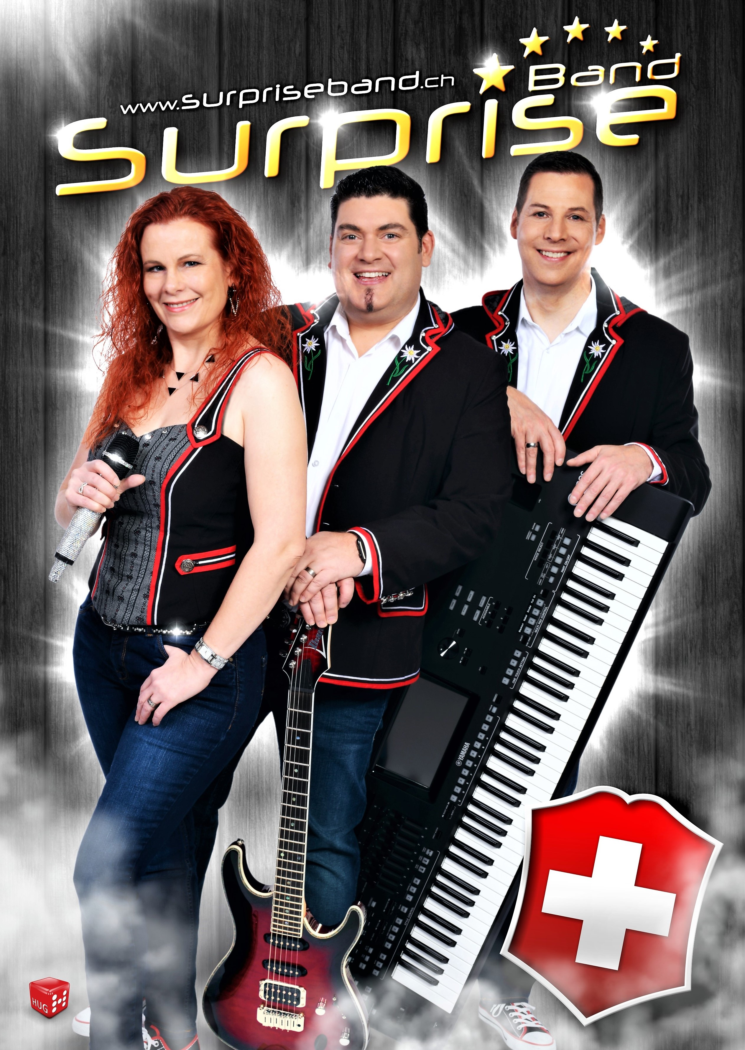 Aktogrammkarte Surprise Band 2019 Swiss.