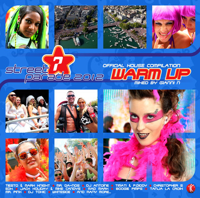 CD Street Parade - warm up 2012